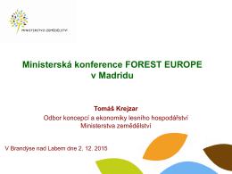 Příloha 4 - Výstupy ministerské konference FE v Madridu 0212102015
