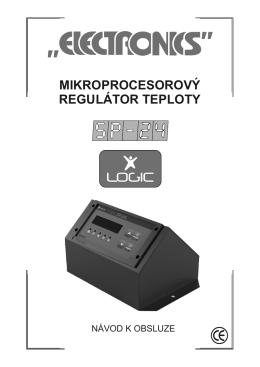 MIKROPROCESOROVÝ REGULÁTOR TEPLOTY