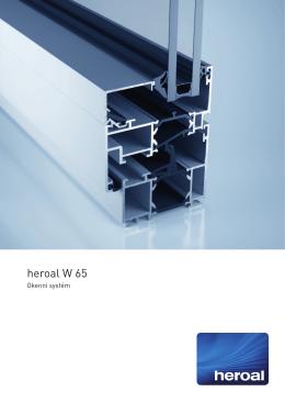 heroal W 65 Datenblatt_CZ