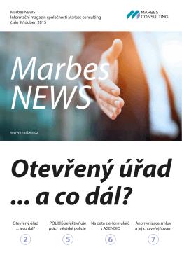duben 2015 - MARBES CONSULTING sro