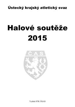 Halové soutěže 2015