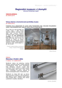 Zde - Regionální muzeum v Litomyšli