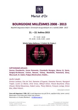 BOURGOGNE MILLÉSIMES 2008