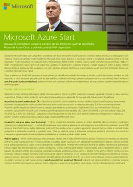 Microsoft Azure Start