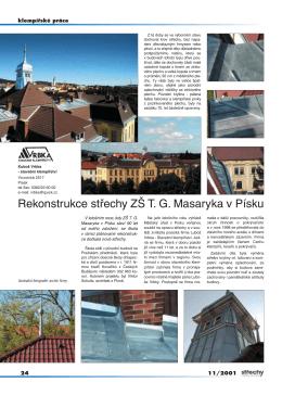 Střechy a izolace - Vrbka střechy sro