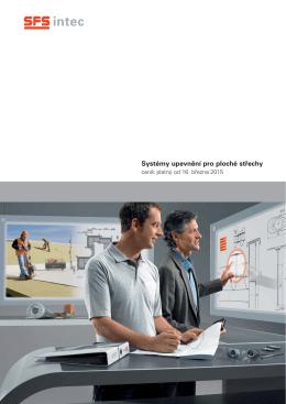 Katalog- Ceník 2015 ploché střechy
