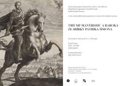 triumf manýrismu a baroka ze sbírky patrika šimona - galerie