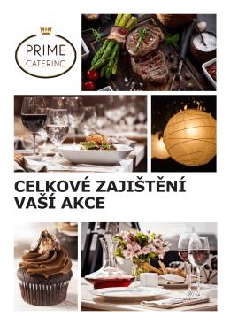 Nabídka rautu - Prime Catering