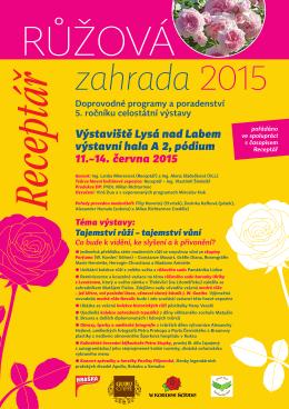 Růžová zahrada 2015