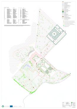 Osazovací plán parku ve zpracování od Ing