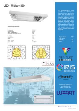 LED - Midibay 850