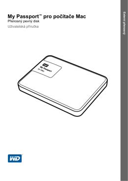 My Passport™ pro počítače Mac