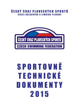 Sportovně technické dokumenty 2015