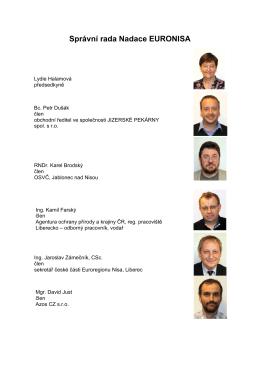 správní rada 2015