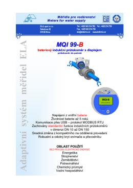 MQI 99-B