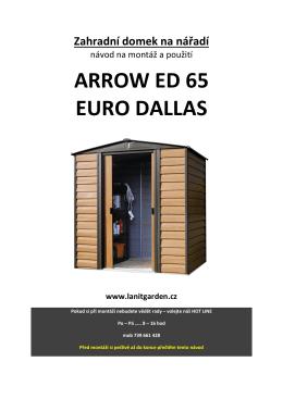Euro Dallas 65, EN - Zahradní domky.cz