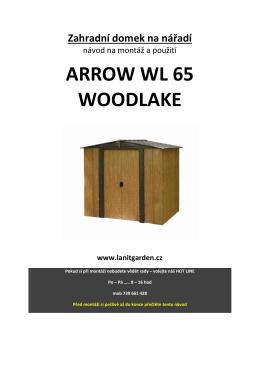 ARROW WL 65 WOODLAKE - Svářečky