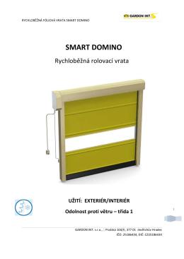 Prospect - Smart Domino - Rychloběžná fóliová vrata