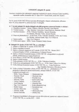 4l Zptávu o činnosti Kontrolní komise AvZo rsČ Čn a hospodařeníza