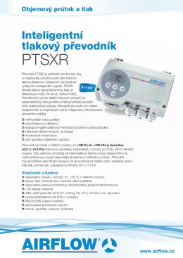 Převodník tlaku PTSXR