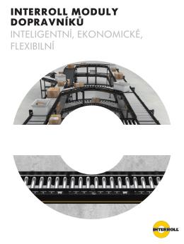 interroll moduly dopravníků inteligentní, ekonomické, flexibilní