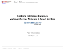 Enabling Intelligent Buildings via Smart Sensor Network