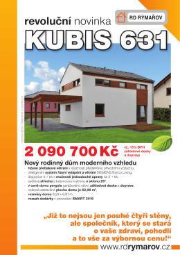KUBIS 631 - leták Zobrazit