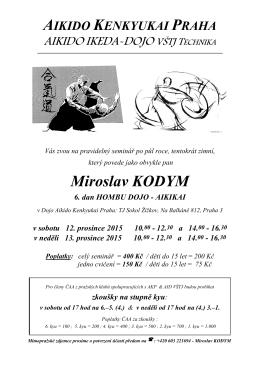 AIKIDO KENKYUKAI PRAHA