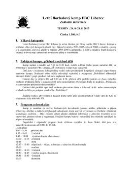 Info kemp 2015