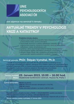 UPA pozvanka - all - Psychologie pro krize