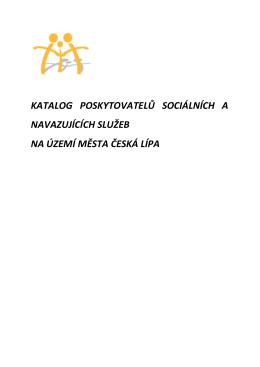 Katalog poskytovatelů sociálních služeb