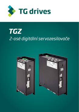 Katalog digitálních servozesilovačů TGZ