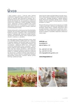 Technologický návod - alternativní produkční systémy