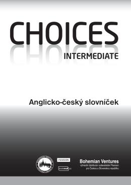 Anglicko-český slovníček INTERMEDIATE