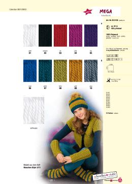Collection 2011/2012 Modell aus dem Heft Maschen