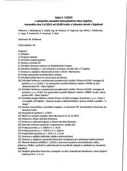 zápis z VZ ZO 3.4.2015