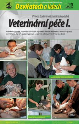 Veterinární péče I.