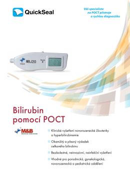 Bilirubin pomocí POCT