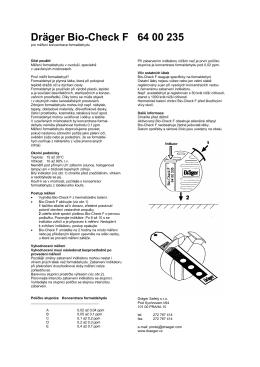 Dräger Bio-Check F 64 00 235