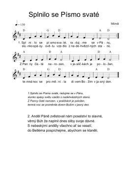 Splnilo se Písmo svaté