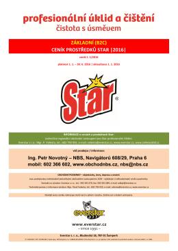 STAR profesionální čištění
