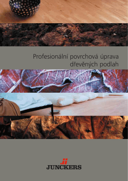 Profesionální povrchová úprava dřevěných podlah - L