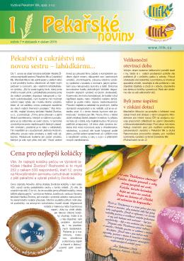 noviny - Pekařství Illík