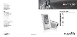 Digitální tonometr Microlife BPA6PC-AFIB