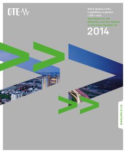 Souhrnná zpráva o trhu s elektřinou a plynem za rok 2014