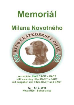 Milana Novotného - Klub krátkosrstý ohař