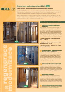 Prospekt ke stažení - modernizace výtahů ()