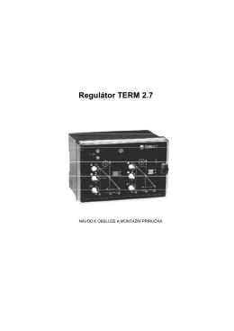 Regulátor TERM 2.7