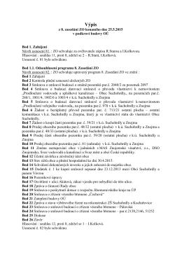 ZO 08 - Obec Suchohrdly