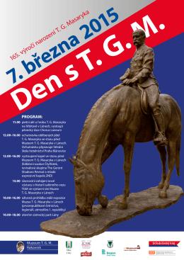 165. výročí narození T. G. Masaryka